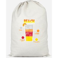 Infographic Sex On The Beach Cotton Storage Bag - Large - Sex Gifts