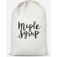 Maple Syrup Cotton Storage Bag - Large