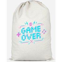 Game Over Gaming Cotton Storage Bag - Large