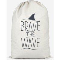 Brave The Wave Cotton Storage Bag - Large
