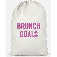 Brunch Goals Cotton Storage Bag - Large