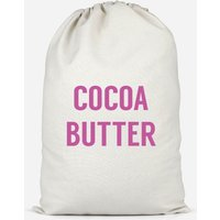 Cocoa Butter Cotton Storage Bag - Large