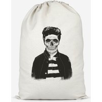Image of Cool Skull Cotton Storage Bag - Small