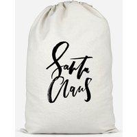 Santa Claus Cotton Storage Bag - Large