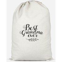 Best Grandma Ever Cotton Storage Bag - Large - Grandma Gifts
