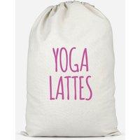 Yoga Lattes Cotton Storage Bag - Large