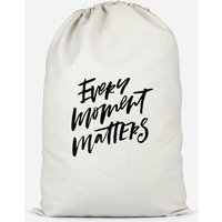Every Moment Matters Cotton Storage Bag - Large