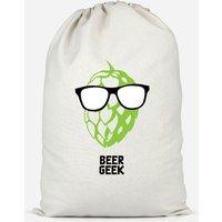 Beer Geek Cotton Storage Bag - Large