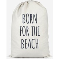 Born For The Beach Cotton Storage Bag - Large - Beach Gifts