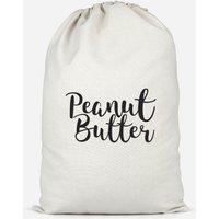Peanut Butter Cotton Storage Bag - Large