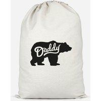 Daddy Bear Cotton Storage Bag - Small