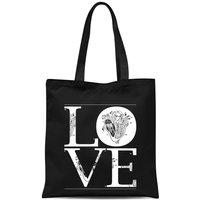 Anatomic Love Tote Bag - Black