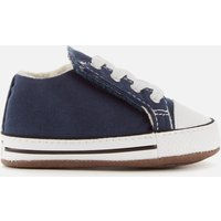Converse Babies' Chuck Taylor All Star Cribster Soft Trainers - Navy - UK 4 Baby - Blue