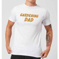 Gardening Dad Men's T-Shirt - White - XS - White