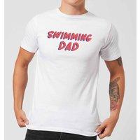 Swimming Dad Men's T-Shirt - White - 4XL - White