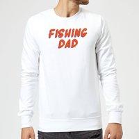 Fishing Dad Sweatshirt - White - S - White