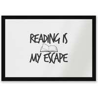 Reading Is My Escape Entrance Mat - Reading Gifts