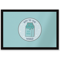 Soy To The World Entrance Mat