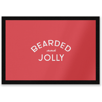 Bearded And Jolly Entrance Mat