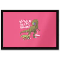 Dinosaur Unicorn Entrance Mat