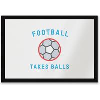 Football Takes Balls Entrance Mat - Football Gifts