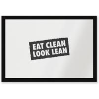 Eat Clean Look Lean Entrance Mat