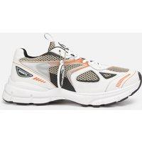 Axel Arigato Men's Marathon Running Style Trainers - White/Black/Orange - UK 9