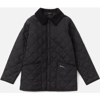 Barbour Boys Liddesdale Quilted Jacket - Black - M (8-9 Years)