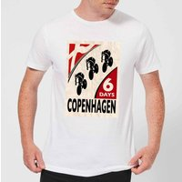 Mark Fairhurst Six Days Copenhagen Men's T-Shirt - White - S - White