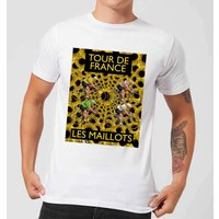 Mark Fairhurst TDF Les Maillots Men's T-Shirt - White - XL - White