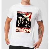 Mark Fairhurst Revolution Men's T-Shirt - White - XXL - White