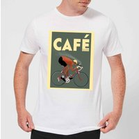 Mark Fairhurst Cafe Racer Men's T-Shirt - White - M - White