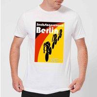 Mark Fairhurst Six Days Berlin Men's T-Shirt - White - XXL - White