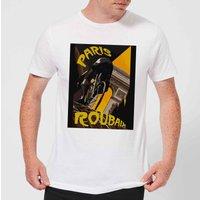 Mark Fairhurst Paris Roubaix Men's T-Shirt - White - XXL - White