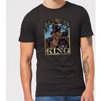 Marvel Black Panther Homage Men's T-Shirt - Black - S - Black