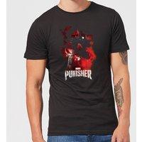 Marvel The Punisher Men's T-Shirt - Black - L - Black
