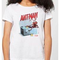 Marvel Bathing Ant Women's T-Shirt - White - L - White