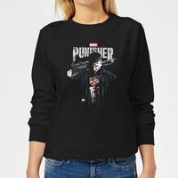 Marvel Frank Castle Women's Sweatshirt - Black - L - Black