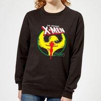 X-Men Dark Phoenix Circle Women's Sweatshirt - Black - S - Black