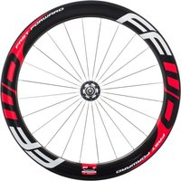 Fast Forward F6T Track Front Tubular Wheel - Red
