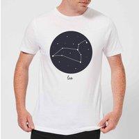 Leo Men's T-Shirt - White - 3XL - White