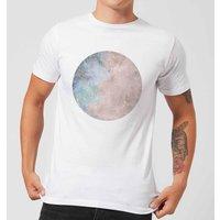 Colourful Moon Mens T-Shirt - White - 5XL - White