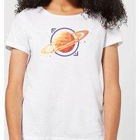 Saturn Women's T-Shirt - White - S - White