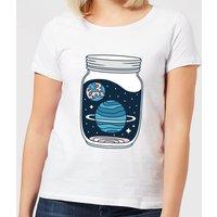 Space Jar Women's T-Shirt - White - M - White