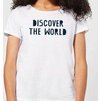 Discover The World Women's T-Shirt - White - 4XL - White