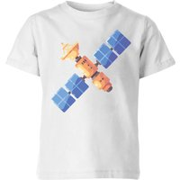 Satellite Kids' T-Shirt - White - 9-10 Years - White