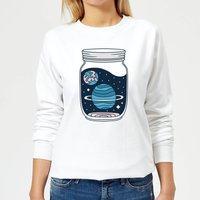 Space Jar Women's Sweatshirt - White - S - White