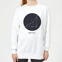 Capricorn Women's Sweatshirt - White - S - White