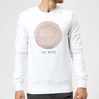 The Moon Sweatshirt - White - S - White