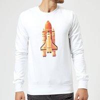 Rocket Sweatshirt - White - L - White